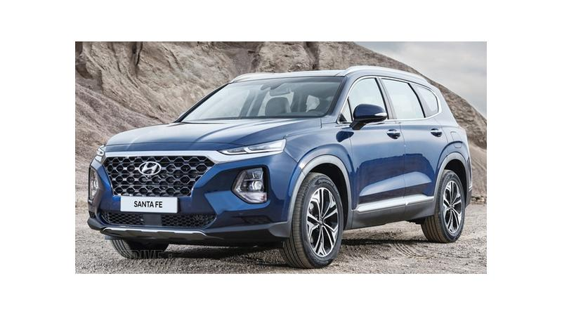 Fourth-generation Hyundai Santa Fe showcased at 2018 Geneva Motor Show