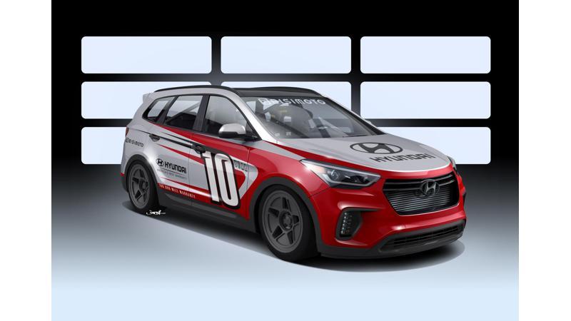 Hyundai unveils Santa Fe and Elantra based show cars at 2016 SEMA show