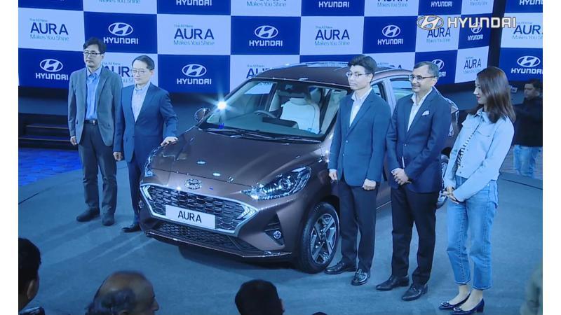Hyundai Aura introduced in India at Rs 5.79 lakhs