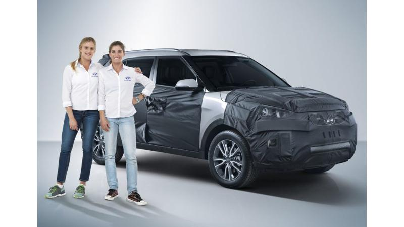 Hyundai teases Creta facelift before Brazilian launch
