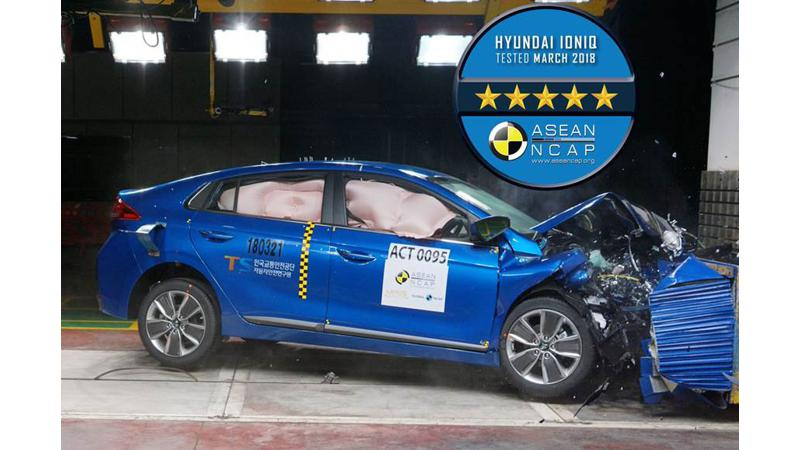 Hyundai Ioniq claims full five-stars at ASEAN NCAP