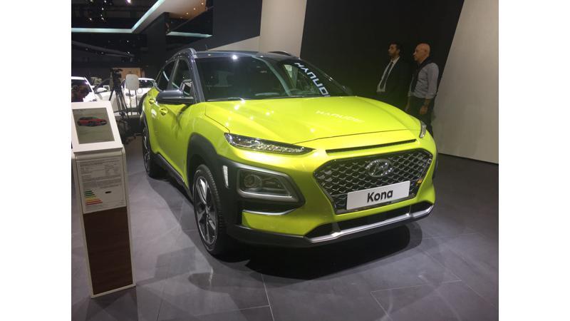 Hyundai Kona electric to arrive by 2019