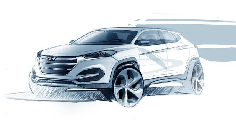 Hyundai Tucson's design expressions showcased