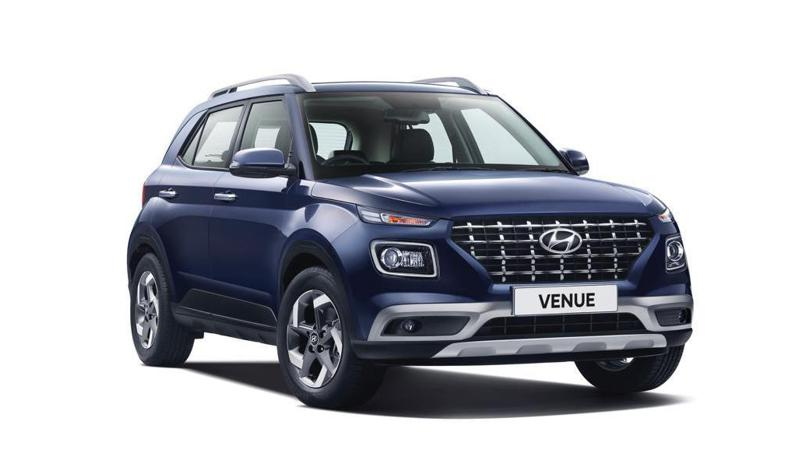 Hyundai Venue available in seven colours, bookings open