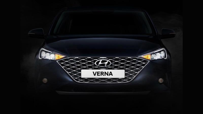 Hyundai Verna facelift officially teased for India