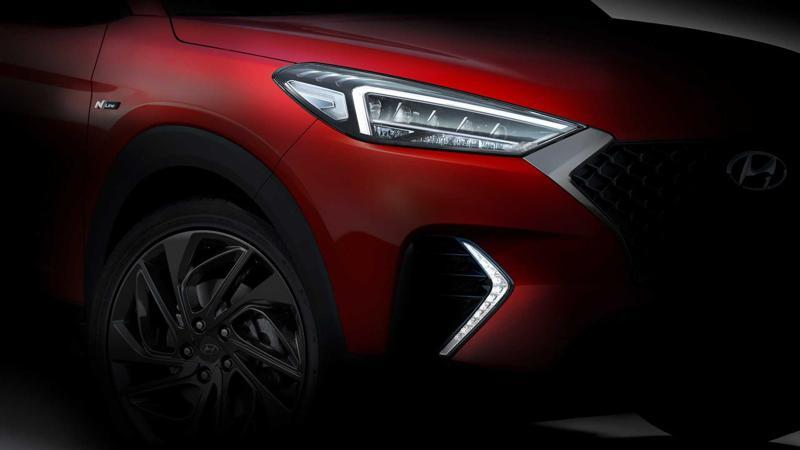 Hyundai Tucson N Line to be unveiled at Geneva