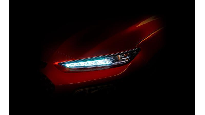 Hyundai Kona compact SUV announced