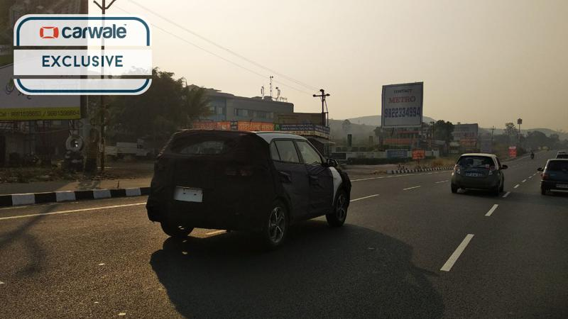 Hyundai spotted testing the Creta facelift