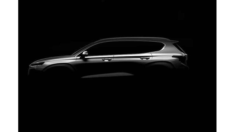 Hyundai teases the new-gen Santa Fe