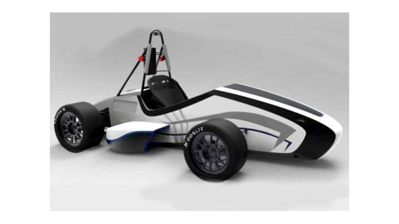 All-electric race car 'Orca' developed by IIT Bombay Racing team