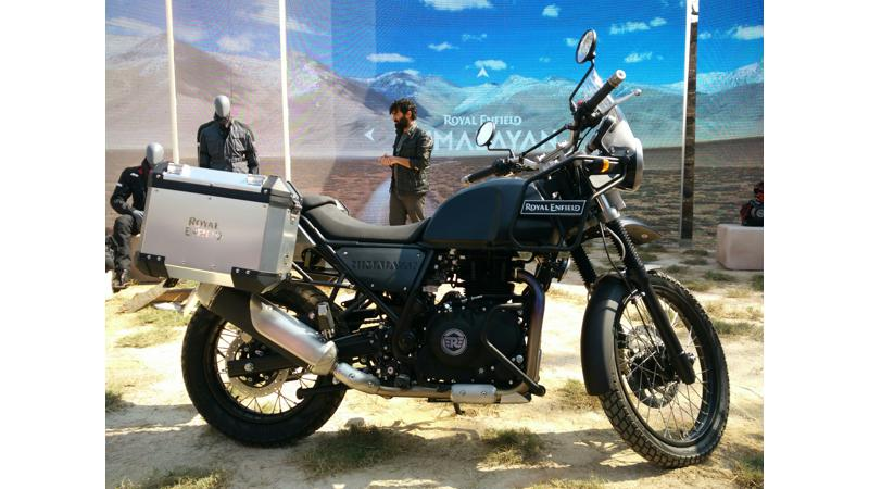 Royal Enfield officially unveils the new Himalayan