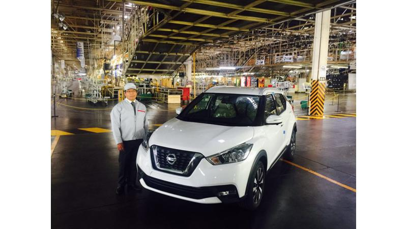 Nissan starts manufacturing the India-bound Kicks in Mexico