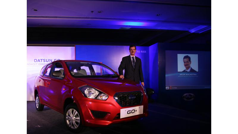 India's first sub-4 meter Compact MPV - Datsun Go+ launched in four trims