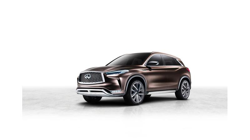 Infiniti QX50 concept to be showcased at Detroit Auto Show
