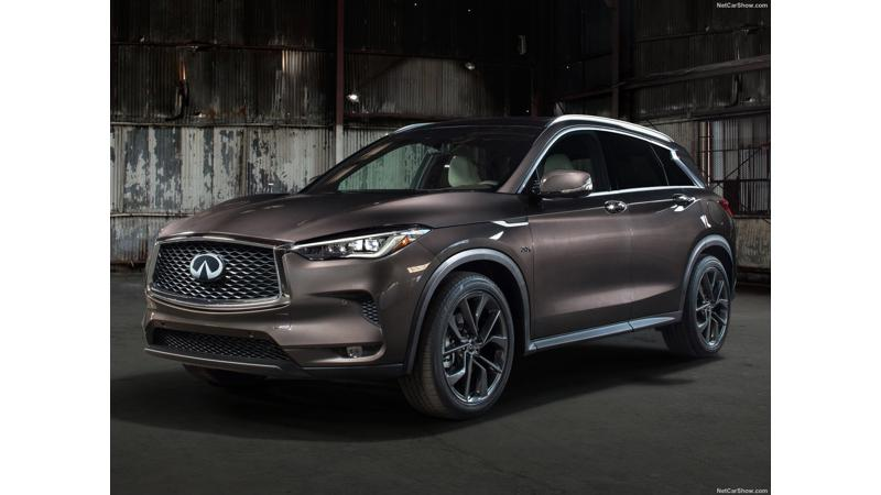 Infinity QX50 with a new variable compression ratio engine revealed