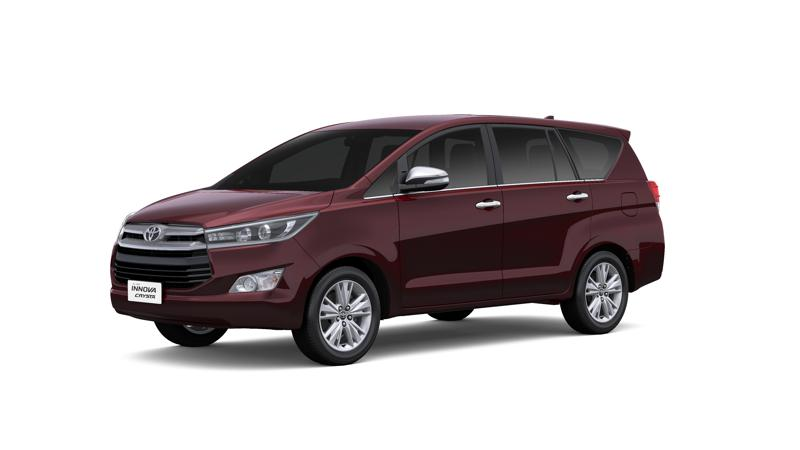 Toyota launches Innova Crysta in India at Rs 13.84 lakh