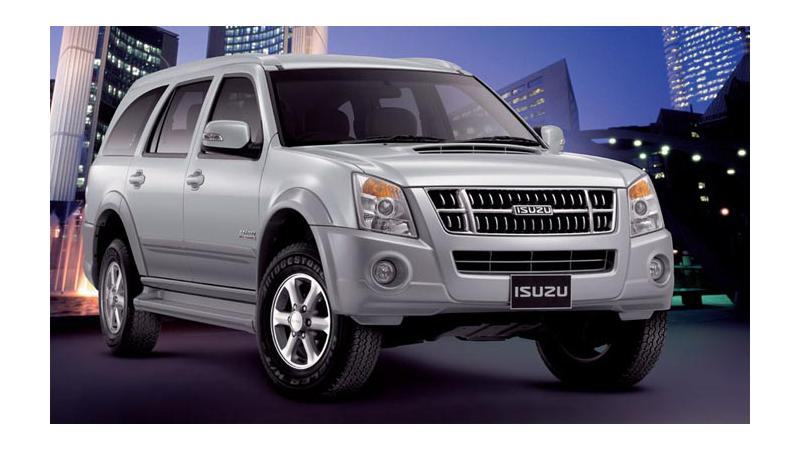 Isuzu MU-7 manual trim production may have been stopped