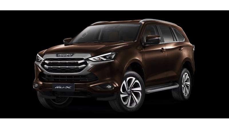 Next-gen Isuzu MU-X unveiled in Thailand