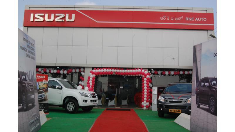 Isuzu Motors opens a new dealership in Andhra Pradesh