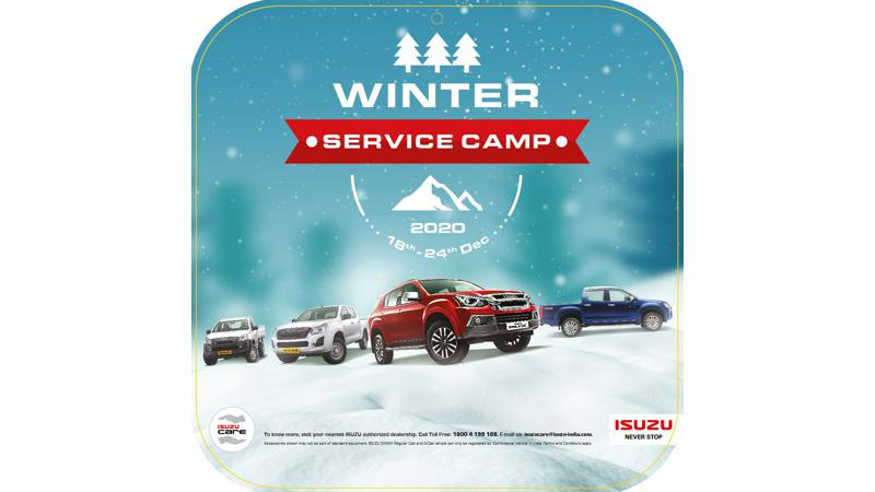 Isuzu launches Winter Service Camp from 18 - 24 December 2020