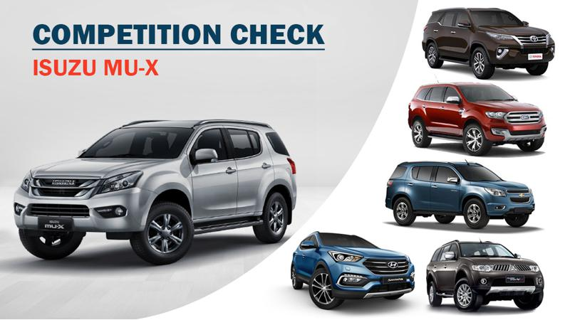 Competition Check: Isuzu MU-X