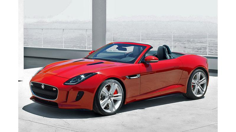 Jaguar F-Type to be launched today