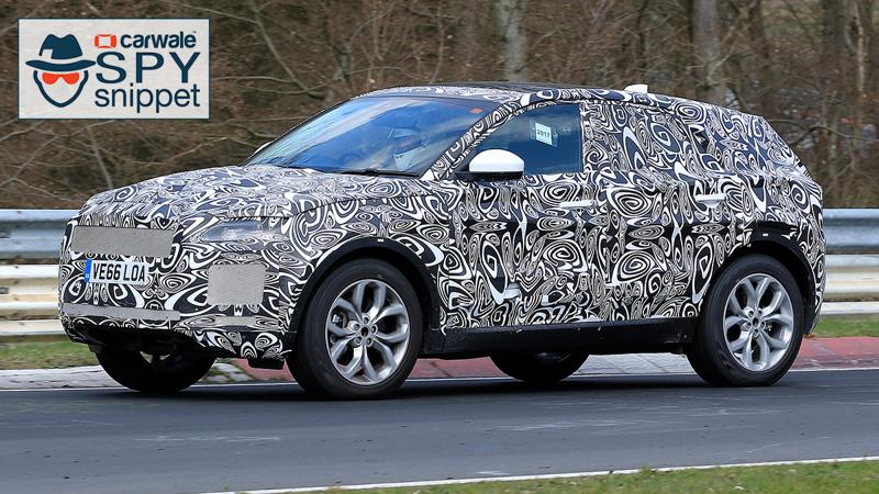 All-new Jaguar E-Pace spotted testing