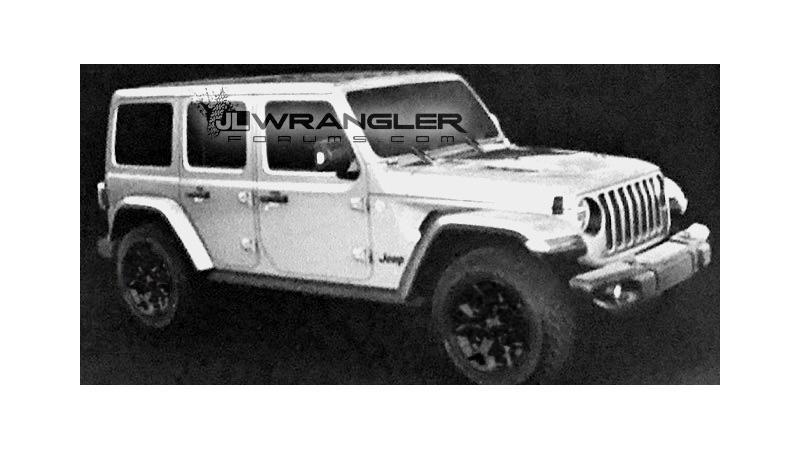 All-new Jeep Wrangler JLU leaked