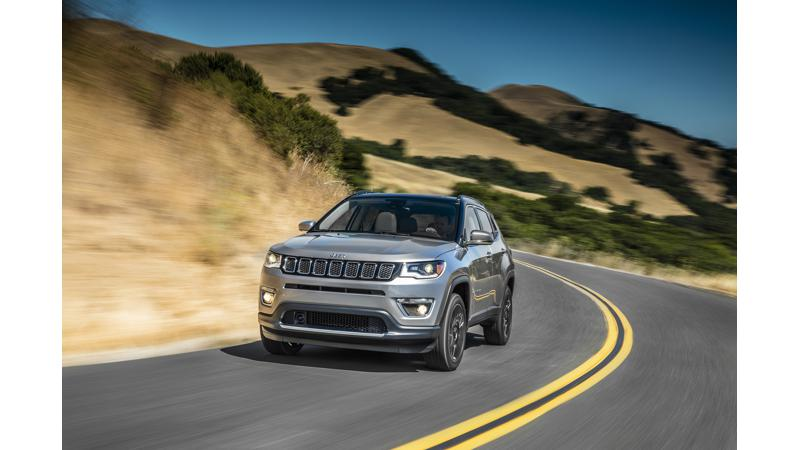 Jeep Compass India debut on April 12