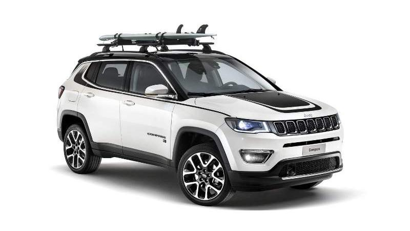 Jeep Compass will be equipped with optional MOPAR accessories