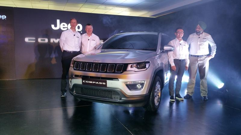 India made Jeep Compass gets web reveal ahead of unveiling