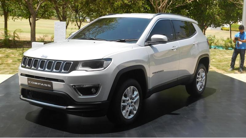 India spec Jeep Compass gets over 50 safety features