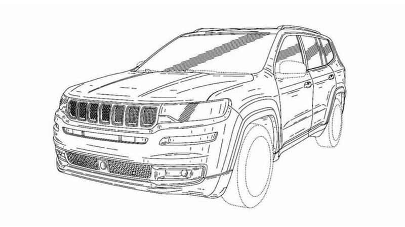 Jeep working on a 3-Row mid-size UV for India