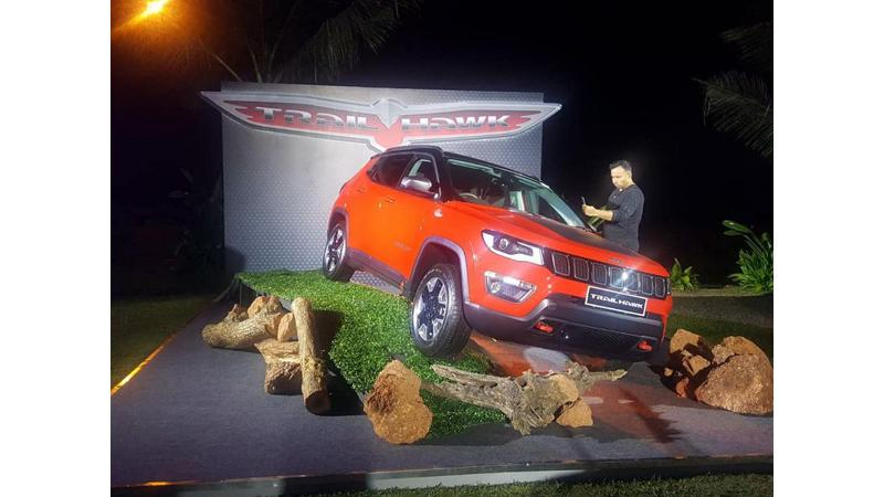 Jeep Compass Trail Hawk showcased at a private event ahead of India debut
