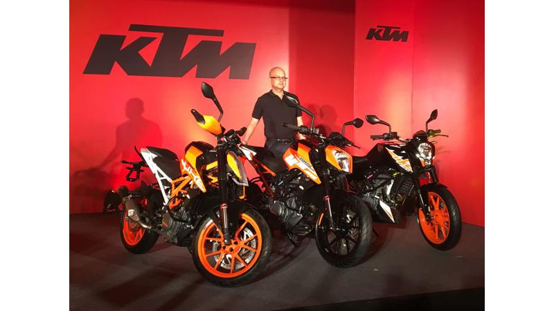 KTM 250 Duke launched at Rs 1.73 lakh