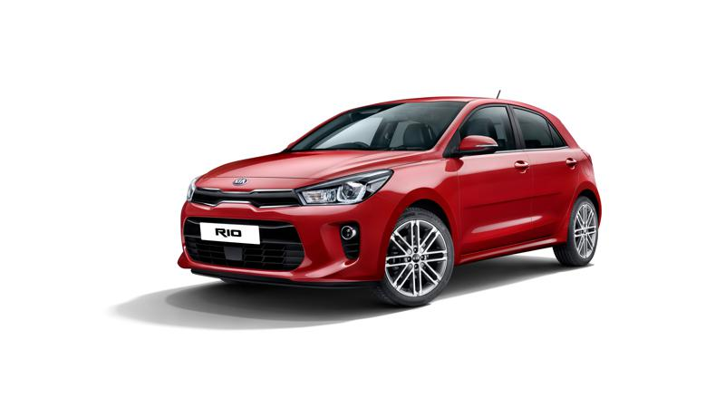 Kia Rio revealed in pictures ahead of official unveiling