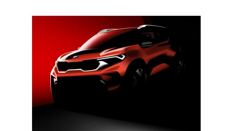 Kia Sonet sub-four metre SUV officially rendered ahead of unveil on 7 August