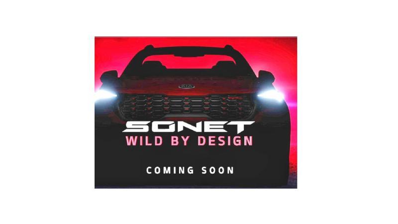 Kia Sonet front design teased