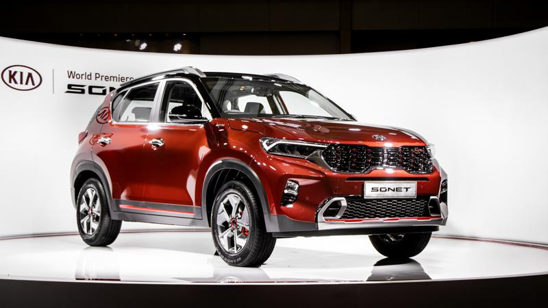 Kia reveals production-ready Sonet