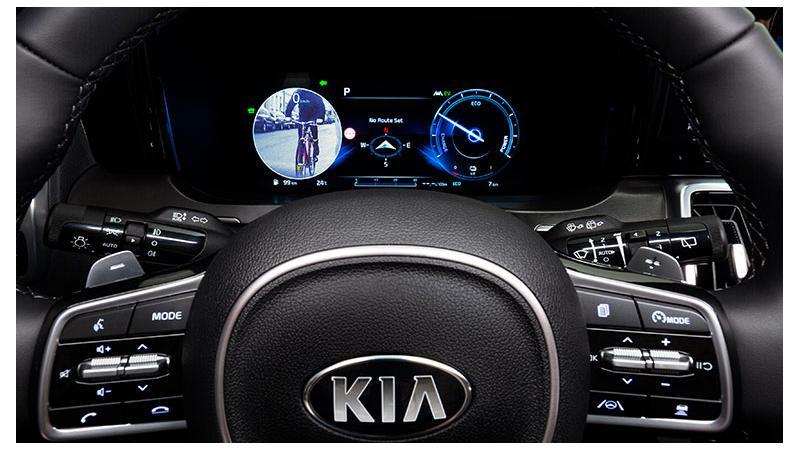 Kia Motors showcases high-resolution Blind-Spot View Monitor