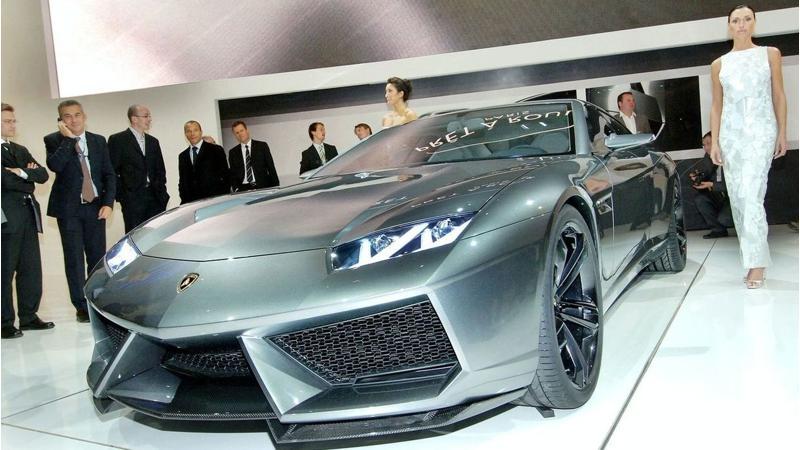 Lamborghini could attempt a four-door saloon after the Urus' success