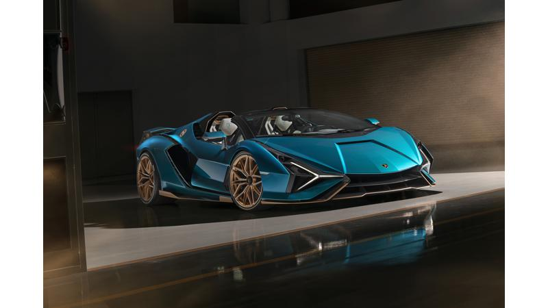 Lamborghini unveils limited edition Sian Roadster