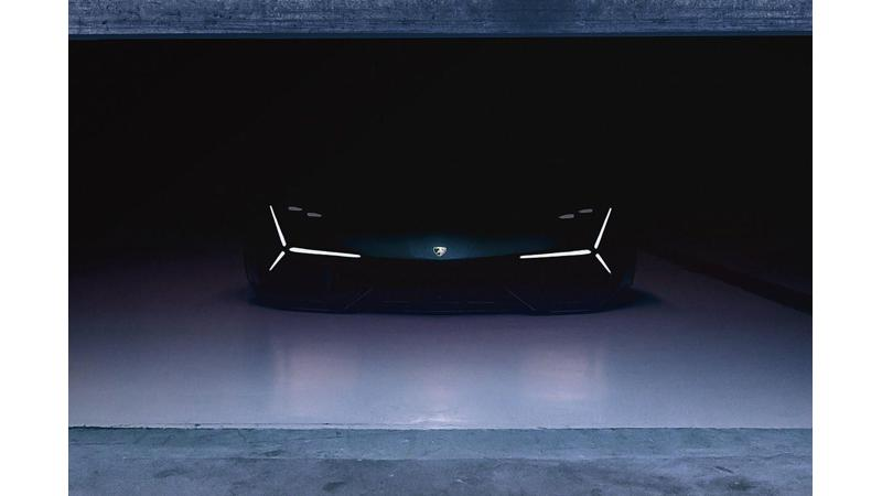 Lamborghini hybrid sports car concept to be revealed tomorrow
