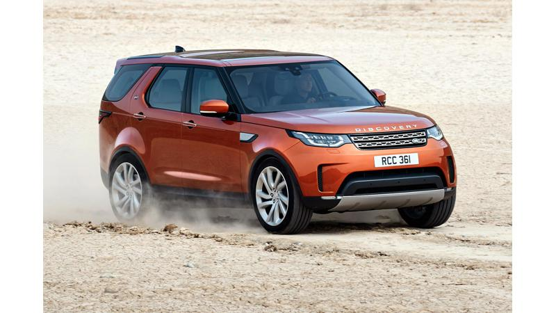 Land Rover to launch 2017 Discovery in October
