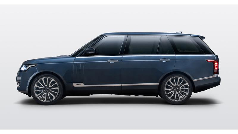 Land Rover Range Rover Autobiography by SVO Bespoke launched in India