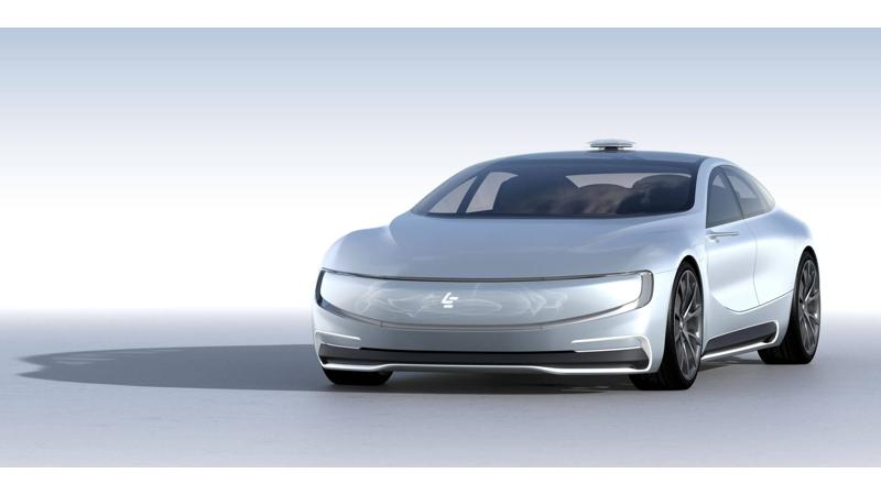 LeEco to showcase production version of its maiden car next year