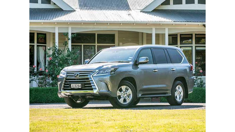 Lexus LX450d arrives in India for homologation