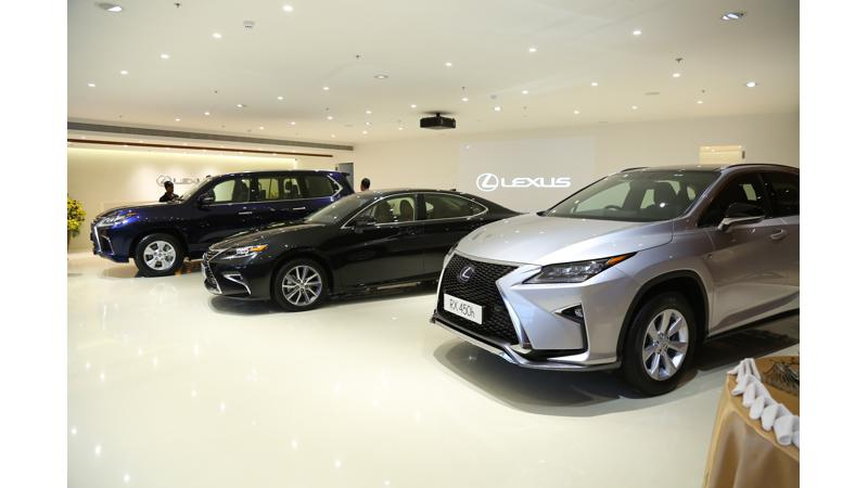 Lexus opens its fourth showroom in India