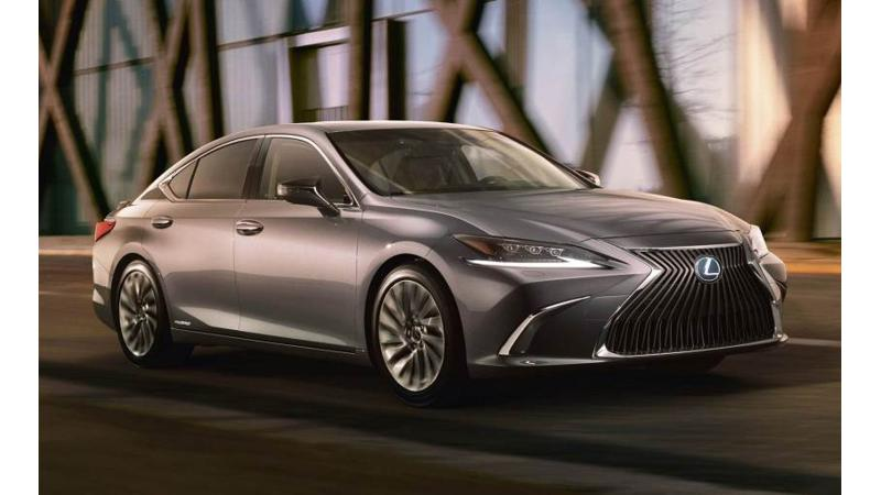 2019 Lexus ES teased ahead of Beijing debut