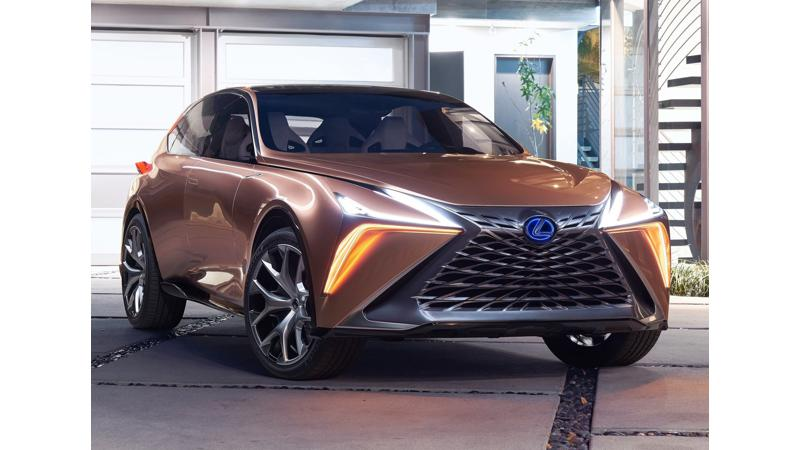 2018 Detroit Auto Show: Lexus reveals the new LF-1 Limitless concept